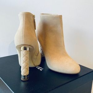 CHANEL**Beige Booties***US 7.5**$1550